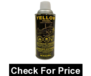 Aerosol Spray Paint Can Yellow