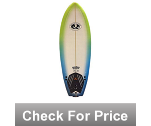 California Board Company CBC Surfboard, 5-Feet x 8-Inch,High Density EPS foam,6.5 pounds