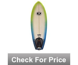 California Board Company CBC Surfboard, 5-Feet x 8-Inch,High Density EPS foam,6.5 pounds