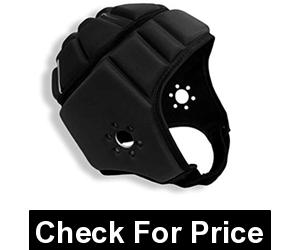 EliteTek Soft Padded Helmet Headgear Protection: 7on7 Tournaments, Flag Football, Team Sports,