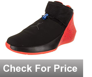 Jordan Why Not Zer0.1 Basketball Shoes, Color: Black/Black-signal Blue