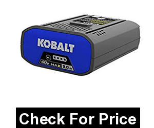 Kobalt 40-Volt 3.0AH Amp Hours Rechargeable Lithium Ion (Li-ion) Cordless Power Equipment Battery 3AH