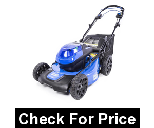 Kobalt 40-volt Brushless Lithium Ion 20-in Cordless Electric Lawn Mower,3-in-1 feature offers mulching, rear bagging, or side discharge capabilities