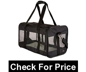 Large Soft-Sided Mesh Pet Transport Carrier Bag
