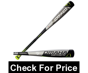 Louisville Slugger Omaha 518(-10) 2018 USA 2 5/8 Barrel Bat (WTLUBO518B10) (31 inch/21 oz)