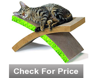 Petstages Cat Scratcher Cat Hammock Cat Scratching Post,Item Weight-1.3 pounds,Easy Life Cat Scratcher