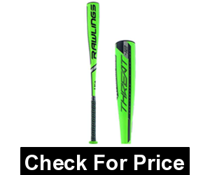 Rawlings 2019 Threat USA Youth Baseball Bat (-12)