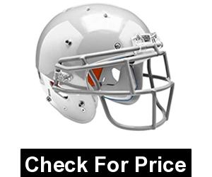Schutt Sports 798004 Youth Recruit Hybrid Football Helmet (Face Mask Included), White