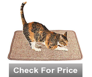 Cats Anti-Slip Scratch Sleeping Mat,Size: 15.75Wx23.65L,,Color: Light Brown,THREE LAYERS OF ANTI-SKID