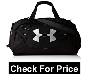 Under Armour Undeniable Duffle 3.0 Gym BagLarge Black/SilverLarge