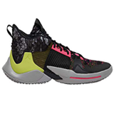 cyber style Russell Westbrook Jordan shoes,Double layered collar for exceptional ankle stability,Circular pattern to improve movement control