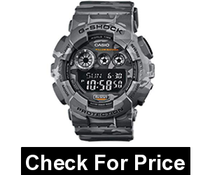 Casio G Shock GD-120CM-8ER G-Shock Uhr Watch Montre Camo Pack limited Edition, Imported, Water Resistant