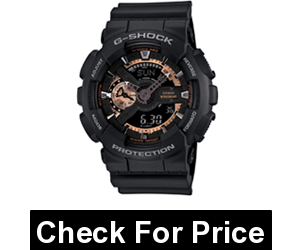 Casio G-Shock Men's GA-110 Watch,Stopwatch, Countdown timer, Full auto-calendar (Battery: CR1220),Color: Black/silver