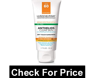 La Roche-Posay Anthelios Clear Skin Sunscreen SPF 60, 1.7 Fl. Oz. and antioxidants to protect skin