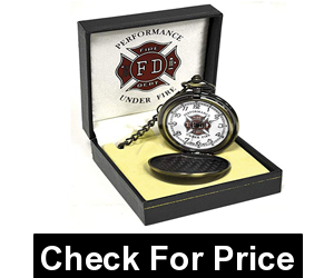 Sigma Impex Firefighter Pocket Watch,Shipping Weight: 4.55 pounds