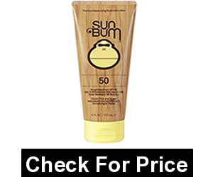 Sun Bum Original Moisturizing Sunscreen Lotion, SPF 70, 3 oz. Tube, 1 Count, Broad Spectrum UVA/UVB Protection, Hypoallergenic, Paraben Free, Gluten Free