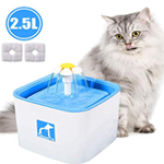 2.5 L cat water fountain