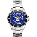 Gift for US Air Force Veteran Military Soldier Watch
