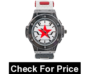 Winter Soldier Armor Watch with Adjustable Strap,Movement- quartz,Adjustable strap