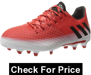 adidas Men's Messi 16.2 Firm Ground Cleats Soccer Shoe,Color: Red/Black/White ,Price:$49.97 - $159.24