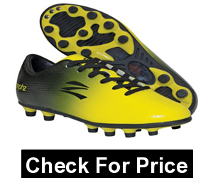 zephz Wide Traxx Black/Yellow Soccer Cleat Youth, Price: $45.99 - $56.95
