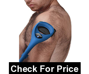 BAKblade 2.0 ELITE PLUS Chest Hair Removal and Body Shaver,Easy to Use Curved Handle for a Close, Pain-Free Shave Wet or Dry