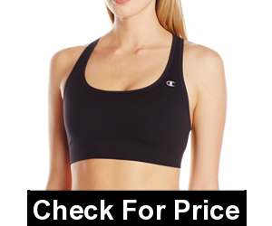 Champion Absolute Sports Bra WithSmoothTec Band,Imported,Machine Wash,89% polyester/11% spandex