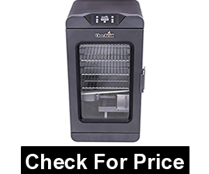 Char-Broil Black Digital Electric Smoker, 725 Square Inch, double-wall construction