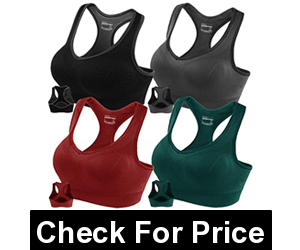 FITTIN Racerback Sports Bras,Super Comfort and Super Soft Fabric