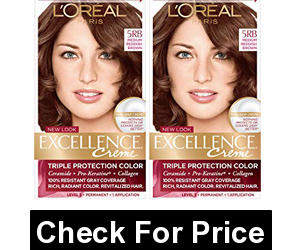 L'Oreal Paris Excellence Creme Permanent Hair Color, Medium Red Brown