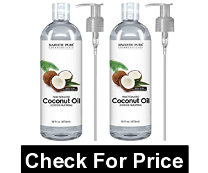 Majestic Pure Fractionated Coconut Oil, For Aromatherapy Relaxing Massage, Carrier Oil for Diluting Essential Oils