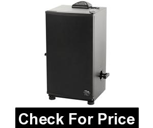 Masterbuilt 30 inch Digital Electric Smoker, Price: $225.14, Four chrome-coated smoking racks