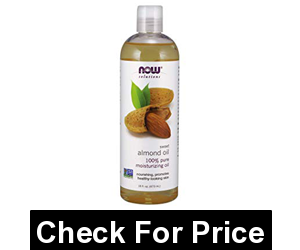 NOW Solutions, Sweet Almond Oil, 100% Pure Moisturizing Oil, Promotes Healthy-Looking Skin, 16 Fl Oz