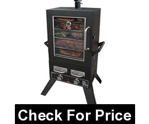 Smoke Hollow PS4415 Propane Smoker, Price: $291.92, 11, 000 BTU stainless Steel burners