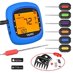 Wireless Digital BBQ Thermometer for Grilling