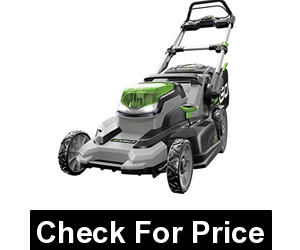 EGO Power+ LM2000-S 20-Inch Cordless Lawn Mower, Price: $329.99, Weather-resistant construction