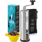 Hand Crank Conical Coffee Bean Grinder