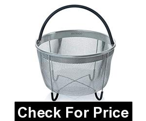 Hatrigo Steamer Basket for Instant Pot, Price: $19.99, Size: 8 Qt - Mesh Basket