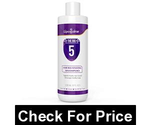Lipogaine Hair Stimulating Shampoo, Price: $25.00, blend of Biotin, Caffeine, Argan Oil