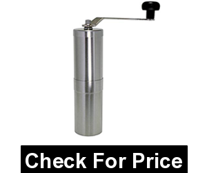 Porlex 345-12541 Jp-30 Stainless Steel Coffee Grinder,Price: $62.99,30 gram capacity,Stainless steel body