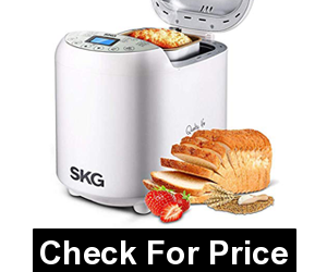 SKG 3920 Automatic Bread Machine, Price: $89.00, 19 programs, 3 loaf sizes (1/1.5/2LB)