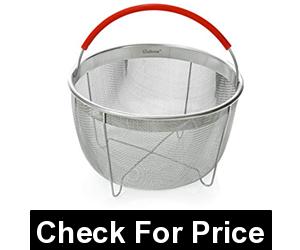 Salbree Steamer Basket for 6qt Instant Pot Accessories, Price: $10.90, Size: 6 Quart