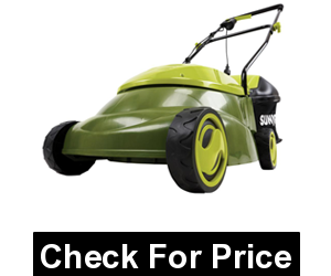 Sun Joe MJ401E 14-Inch 12 Amp Electric Lawn Mower with Grass Bag, includes 10. 6-Gal bag
