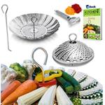 Vegetable Steamer Basket - BEST Bundle