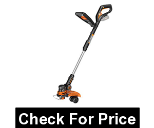 WORX WG160 GT 2.0 20V PowerShare Cordless String Mini Mower, Price: $119.00, No-Load Speed - 7600/minute