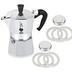Bialetti Moka 3 Cup Espresso Maker