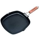 Non-Stick Cast Aluminum Grill Pan for fish