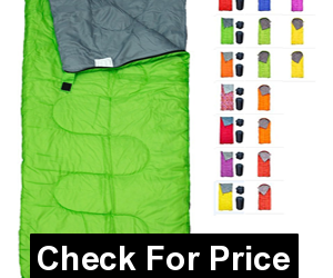 REVALCAMP Sleeping Bag Indoor & Outdoor Use, Great for Kids, Boys, Girls, Teens & Adults