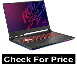 "Asus ROG Strix G (2019) Gaming Laptop, 17.3"" IPS Type Full HD, NVIDIA GeForce GTX 1650, Intel Core i7-9750H, 16GB DDR4, 1TB PCIe Nvme SSD, RGB KB, Windows 10 Home, GL731GT-EB76"