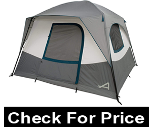 Camp Creek 6 Tents for tall body, Color: Charcoal/Blue